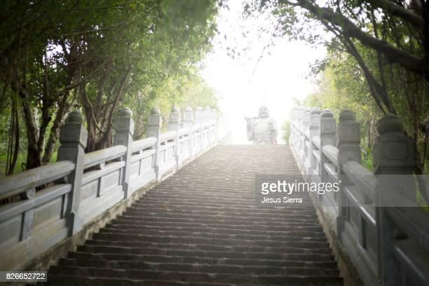 Temple tower of Bai Dinh pagoda