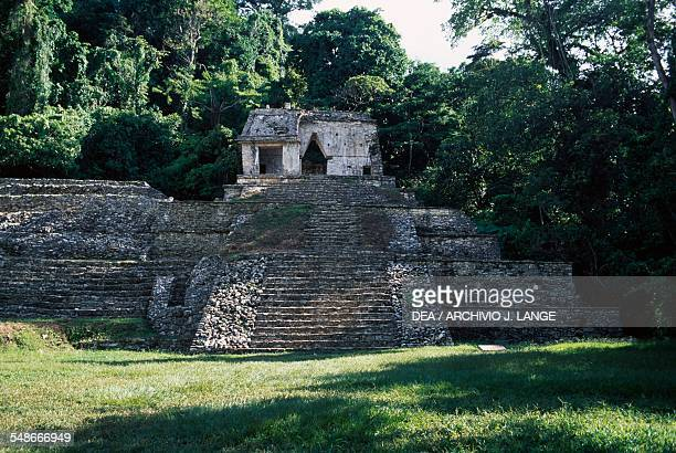 Temple XII or Temple of the Skull Palenque Chiapas Mexico Mayan civilisation 7th8th century