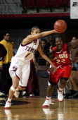 Temple's Cynthia Jordan had 28 points as Temple upset Rutgers during a 71 to 60 Temple Owl victory over the Rutgers Scarlet Knights at the Liacouras...