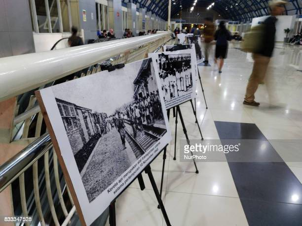 Tempo Media Group with Indonesian Train Company held photo exhibition about Indonesia Independence day strugle and the train as part of it in Jakarta...