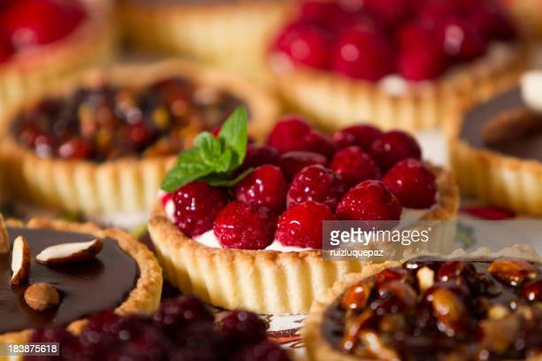 Tempting pies and pastries