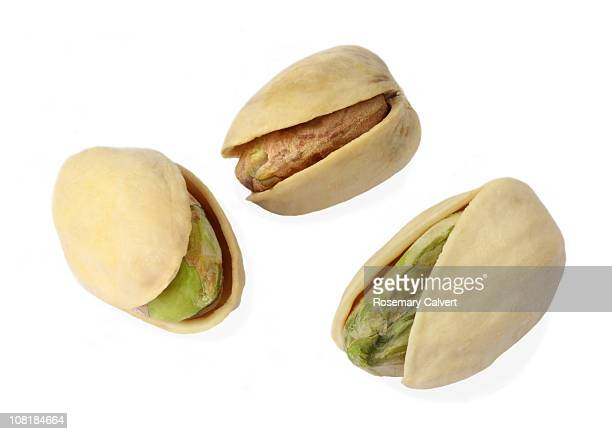 Tempting pistachio nuts ready to eat.