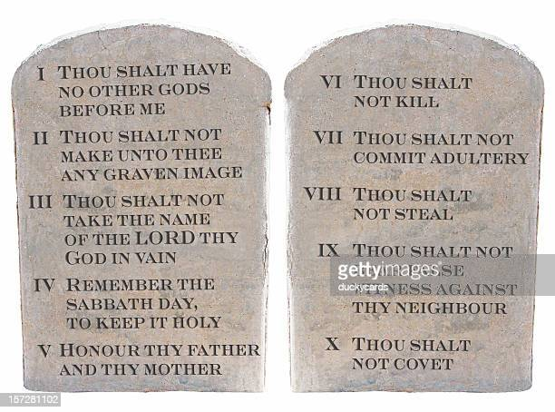 Ten Commandments (KJV)