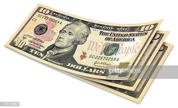 Ten Dollar Banknotes