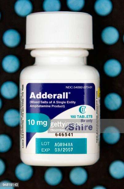 E 111 adderall mg