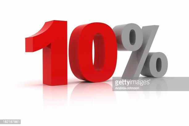 Zehn Prozent Ermäßigung