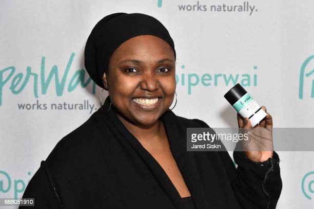 Tenecia Marbury attends PiperWai NYC Launch Event at Vnyl on May 24 2017 in New York City