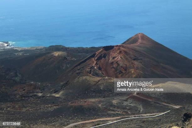 Teneguia volcano in La Palma island, Canary islands