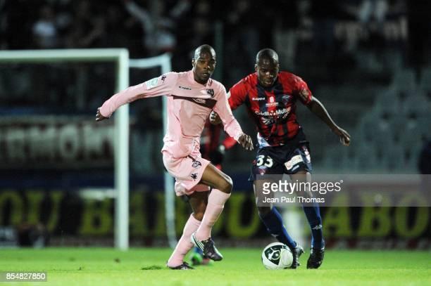 Tenema N'DIAYE Yacouba SYLLA Clermont / Metz 13eme journee de Ligue 2