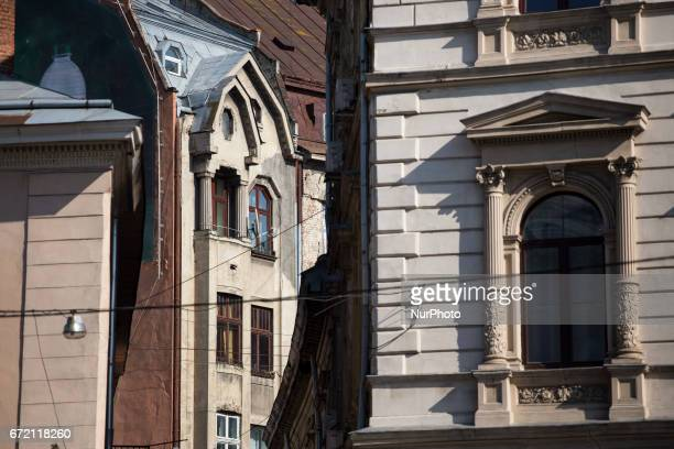 Tenements on Av Svobody in Lviv on April 21 2017 Lviv is the largest city in western Ukraine and the seventh largest city in the country overall and...
