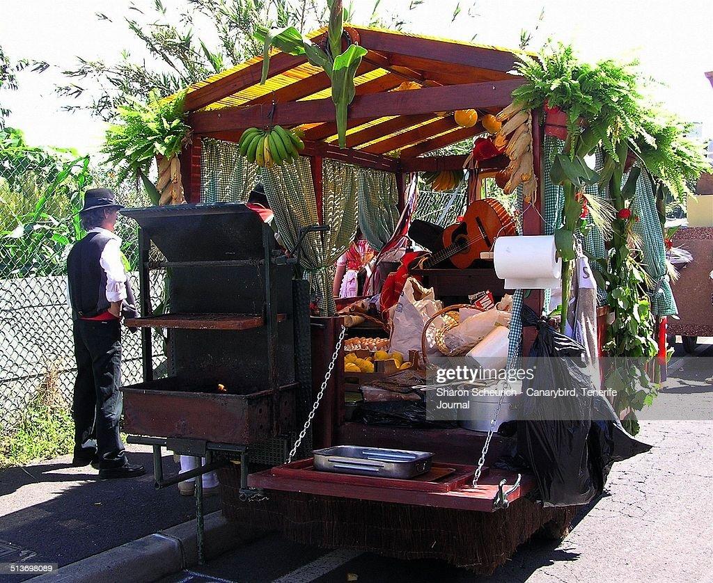 Tenerife Fiesta Cart