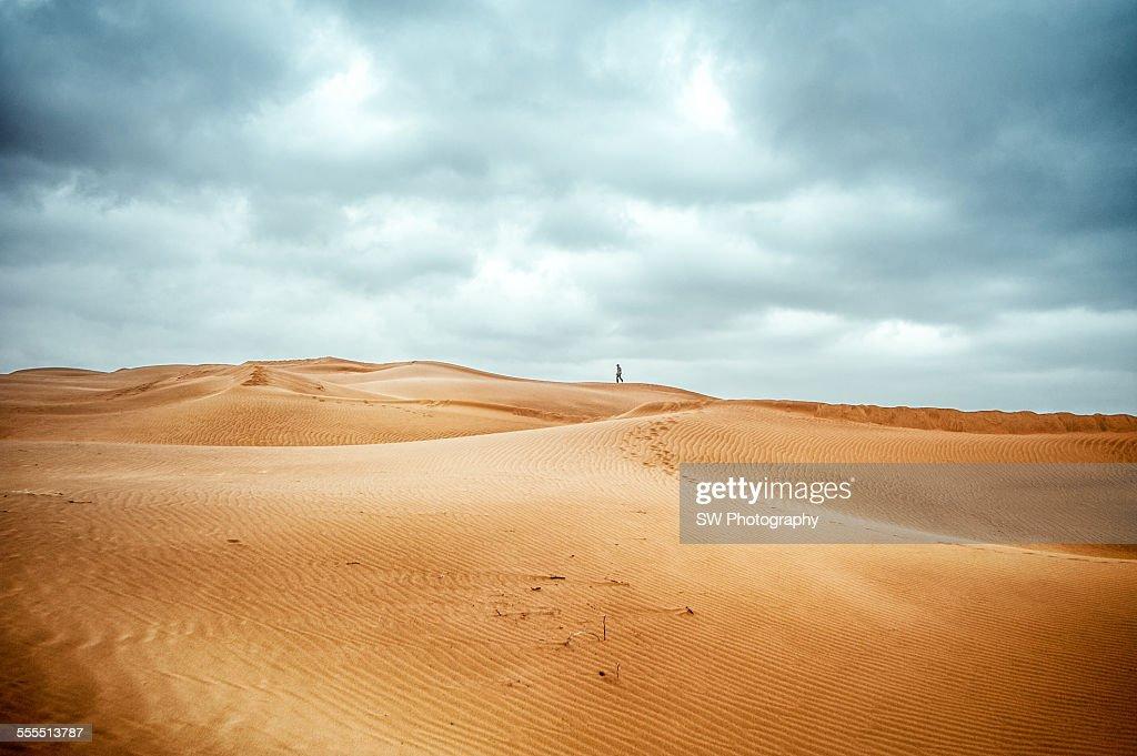 Teng Ge Li desert in China