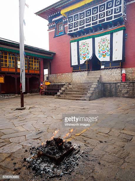 Tengboche Buddhist monastery in Nepal