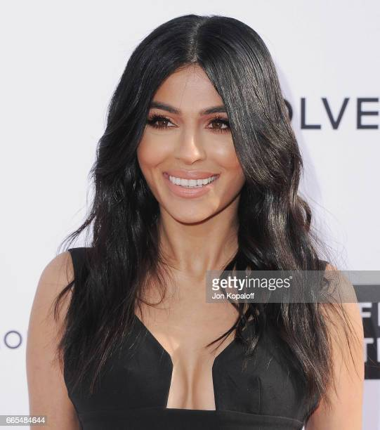 Teni Panosian arrives at the Daily Front Row's 3rd Annual Fashion Los Angeles Awards at the Sunset Tower Hotel on April 2 2017 in West Hollywood...