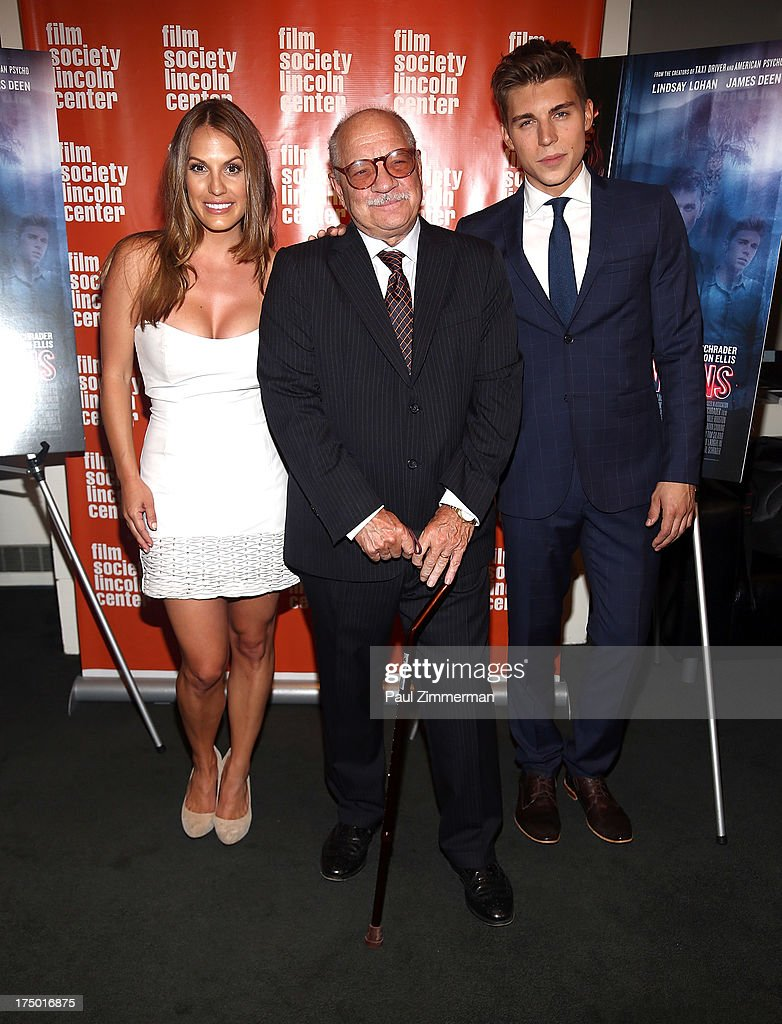 Tenille Houston, <a gi-track='captionPersonalityLinkClicked' href=/galleries/search?phrase=Paul+Schrader&family=editorial&specificpeople=984760 ng-click='$event.stopPropagation()'>Paul Schrader</a> and <a gi-track='captionPersonalityLinkClicked' href=/galleries/search?phrase=Nolan+Gerard+Funk&family=editorial&specificpeople=5626391 ng-click='$event.stopPropagation()'>Nolan Gerard Funk</a> attend the 'The Canyon' premiere at The Film Society of Lincoln Center, Walter Reade Theatre on July 29, 2013 in New York City.