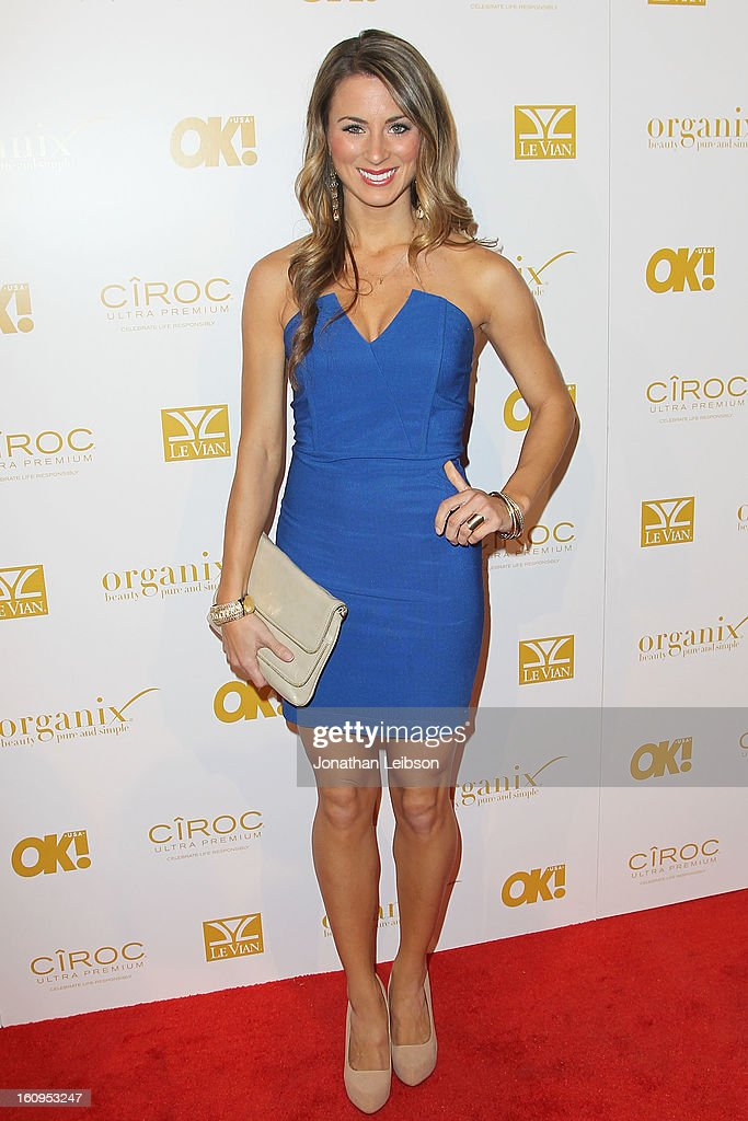 Tenley Molzahn attends the OK! Magazine Pre-GRAMMY Party at Sound on February 7, 2013 in Hollywood, California.