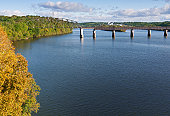 View of the Tennessee River from Loudon, Tennessee