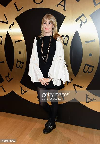 DJ Tennessee Thomas attends BVLGARI Celebration Of 40 Years Of BVLGARIBVLGARI at Bulgari Fifth Avenue on November 3 2015 in New York City