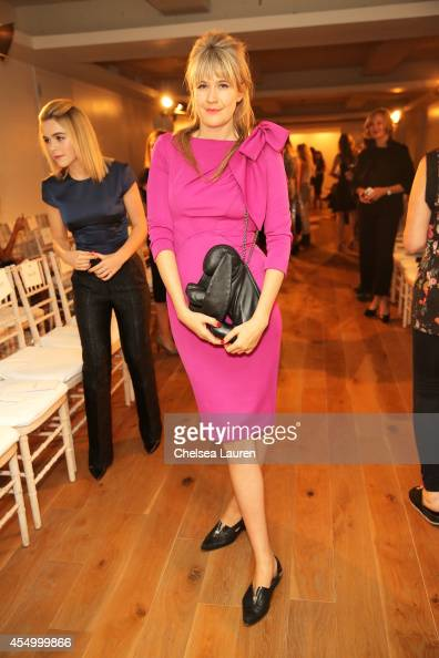 Tennessee Thomas attends the Zac Posen fashion show during MercedesBenz Fashion Week Spring 2015 on September 8 2014 in New York City