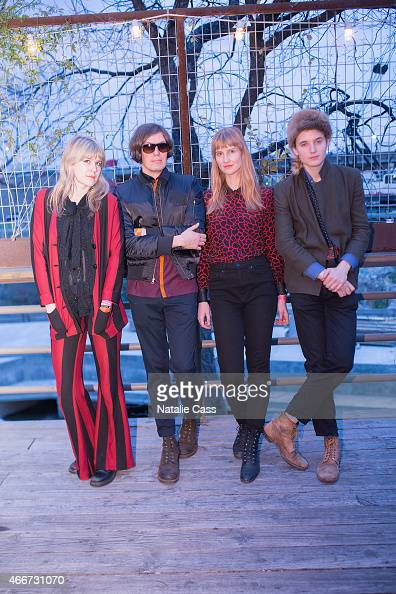 Tennessee Thomas Niholai Fraiture Erika Spring and Lewis Lazar as part of the Summer Moon Band attend the NYLON presents SXStyle Official Closing...
