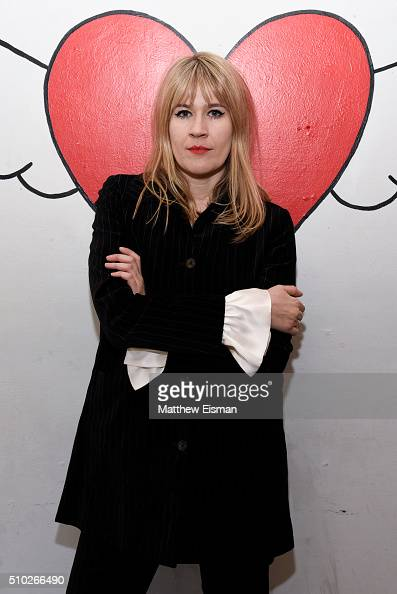 Tennessee Thomas poses during The Deep End Club Collection launch hosted by Alexa Chung at The Deep End Club on February 14 2016 in New York City