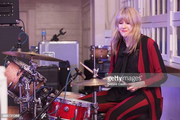 Tennessee Thomas with the band Summer Moon preforms at the NYLON presents SXStyle Official Closing Party during the 2015 SXSW Interactive Festival at...