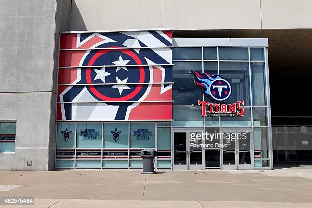 Tennessee Titans team store at Nissan Stadium home of the Tennessee Titans football team on July 19 2015 in Nashville Tennessee