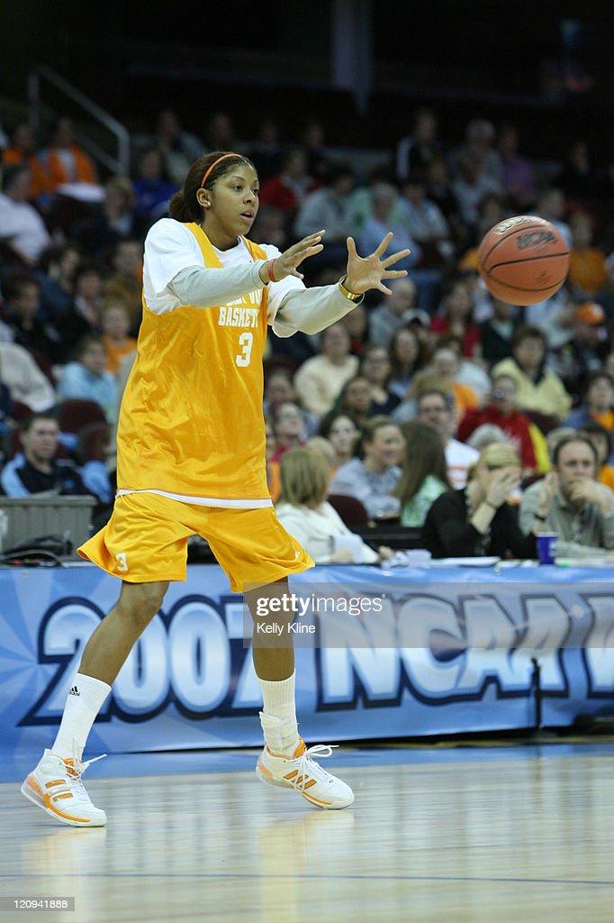 NCAA Women's Basketball - 2007 NCAA Tournament - Tennessee Volunteers Practice