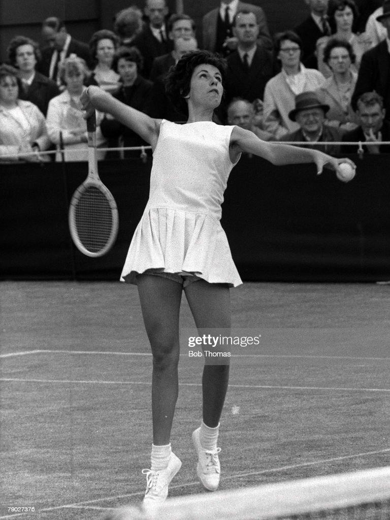 Tennis 1962 Wimbledon All England Tennis Championships La s