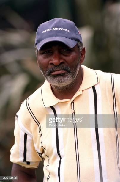 Tennis 2001 All England Lawn Tennis Championships Wimbledon Richard Williams Father and Coach to Serena and Venus Williams of the USA