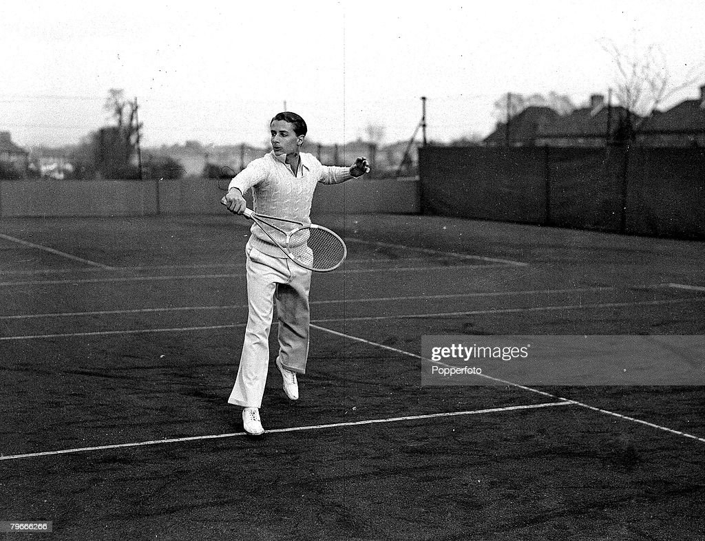 Tennis 22nd March 1937 H W Bunny Austin who has succeeded