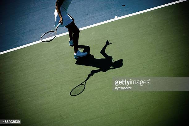 Abstrait de tennis