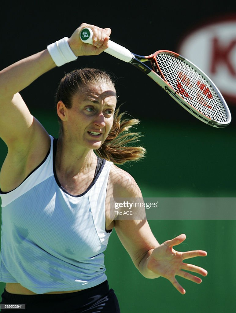 Tennis Australian Open at Melbourne Park Mary Pierce France