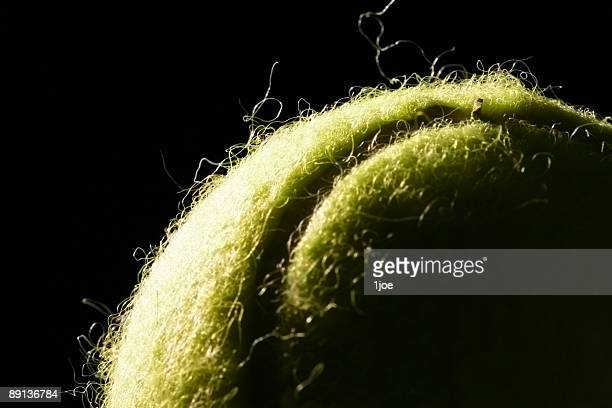 Tennis ball.  Dramatic Lighting