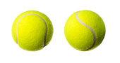Tennis ball, studio shot