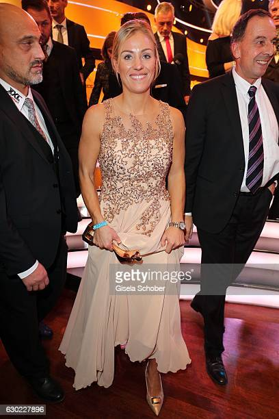 Tennis Champion Angelique Kerber with award during the 'Sportler des Jahres 2016' Gala at Kurhaus on December 18 2016 in BadenBaden Germany