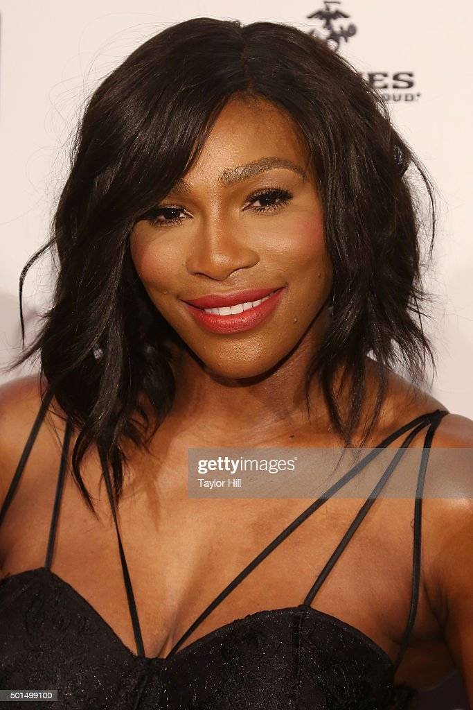 Tennis champion Serena Williams attends the 2015 Sports Illustrated Sportsperson Of The Year Ceremony at Pier Sixty at Chelsea Piers on December 15, 2015 in New York City.