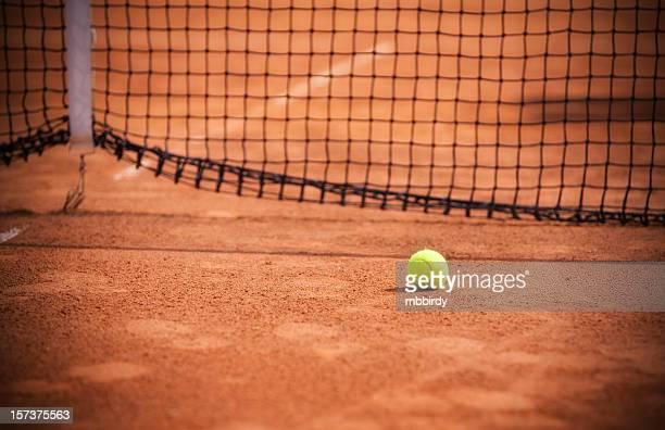 court de Tennis sur terre battue