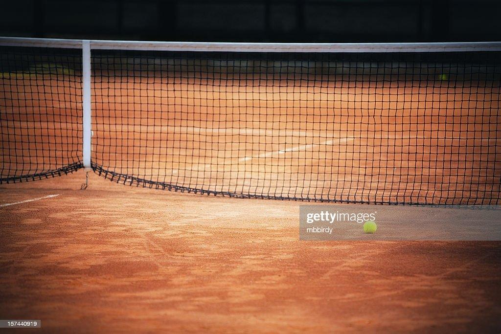 court de Tennis sur terre battue : Photo