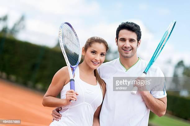 Tennis Paar