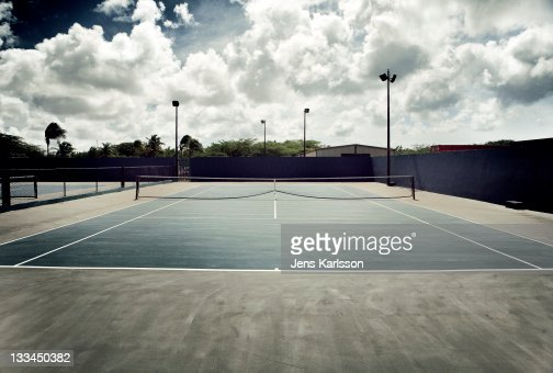 Tennis Court : Stock Photo