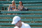 melbourne australia tennis fans watch match