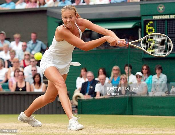 Tennis / Frauen Wimbledon 2004 London Maria SHARAPOVA / RUS 010704