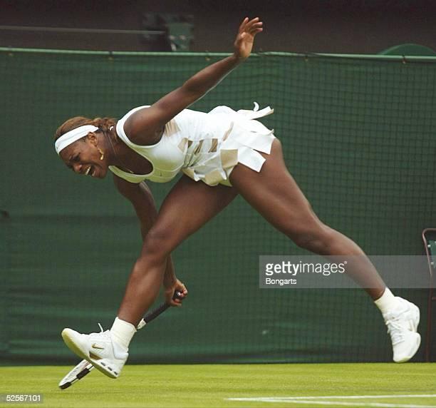 Tennis / Frauen Wimbledon 2004 London Serena WILLIAMS / USA 220604