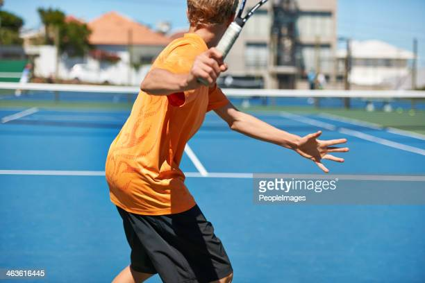 Tennis is his game