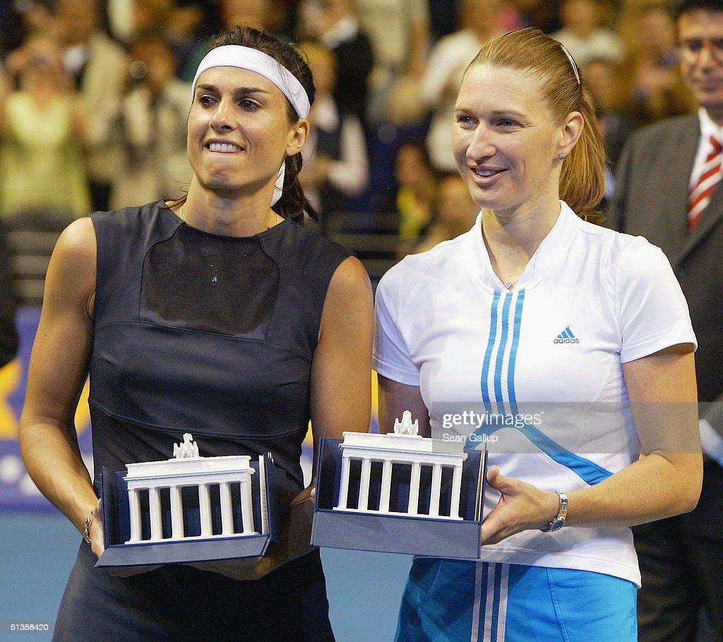 Steffi Graf V Gabriela Sabatini Inauguration & Exhibition Match