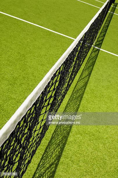 Tennis net (high angle view)