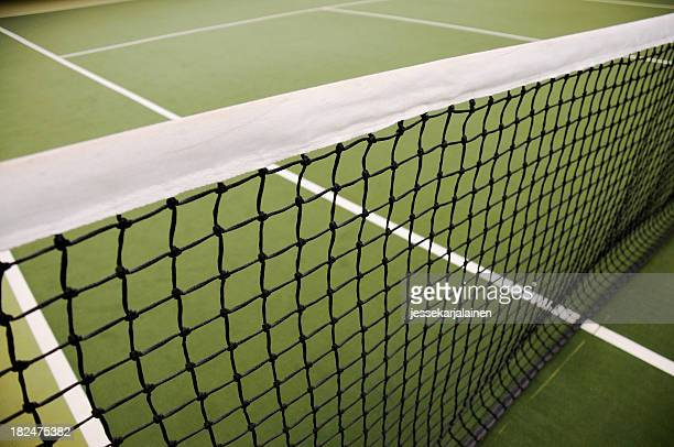 Tennis net wide