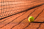 Roland Garros tennis clay court