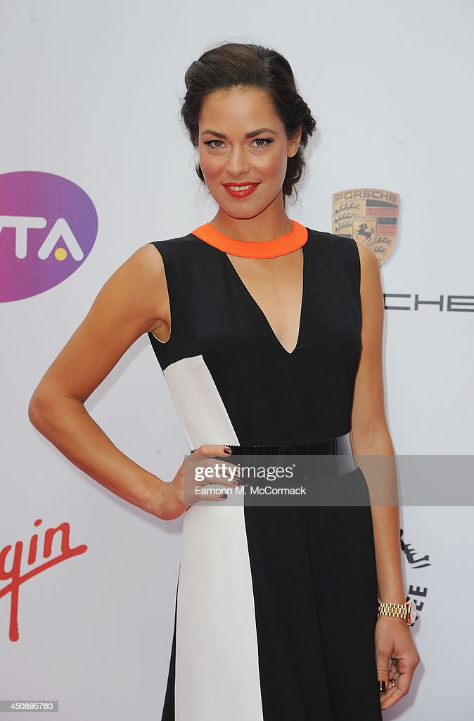 Tennis Player <a gi-track='captionPersonalityLinkClicked' href=/galleries/search?phrase=Ana+Ivanovic&family=editorial&specificpeople=542118 ng-click='$event.stopPropagation()'>Ana Ivanovic</a> attends the WTA Pre-Wimbledon Party as guests enjoy Ciroc Vodka presented by Dubai Duty Free at Kensington Roof Gardens on June 19, 2014 in London, England.